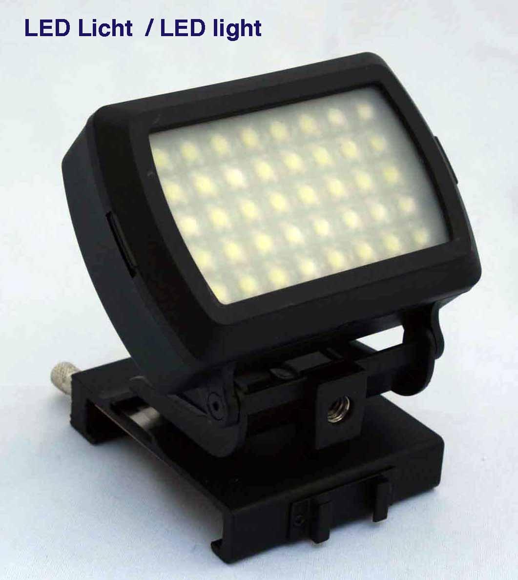 LED Licht, Scheinwerfer